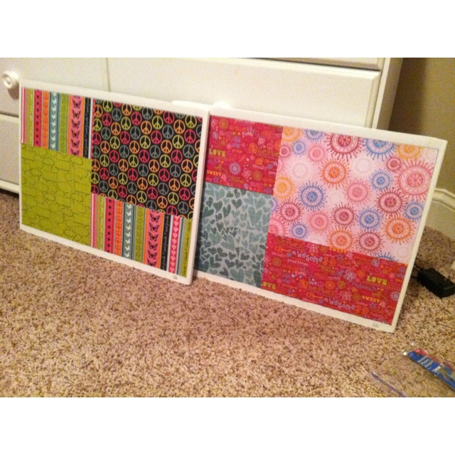17 best images about things ive made on pinterest old for Pretty bulletin board