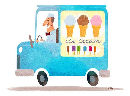 ding-a-ling! ding-a-ling! - Ice Cream Man - Steve Mack