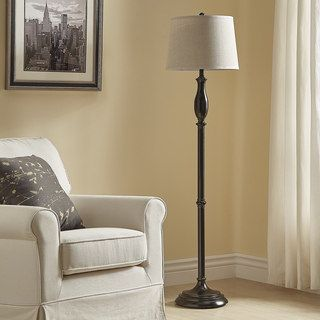 Shop for Ellsworth Black Traditional Floor Lamp by iNSPIRE Q Classic. Get free shipping at Overstock.com - Your Online Home Decor Outlet Store! Get 5% in rewards with Club O! - 21831302