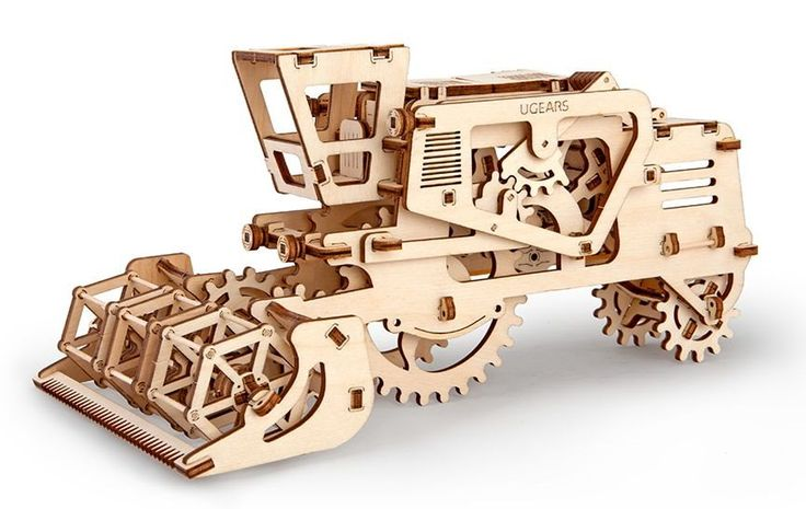 Ugears 3D mechanické puzzle Kombajn