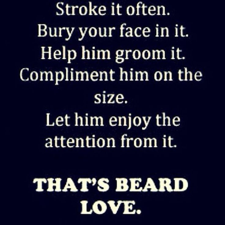 That's Beard Love.