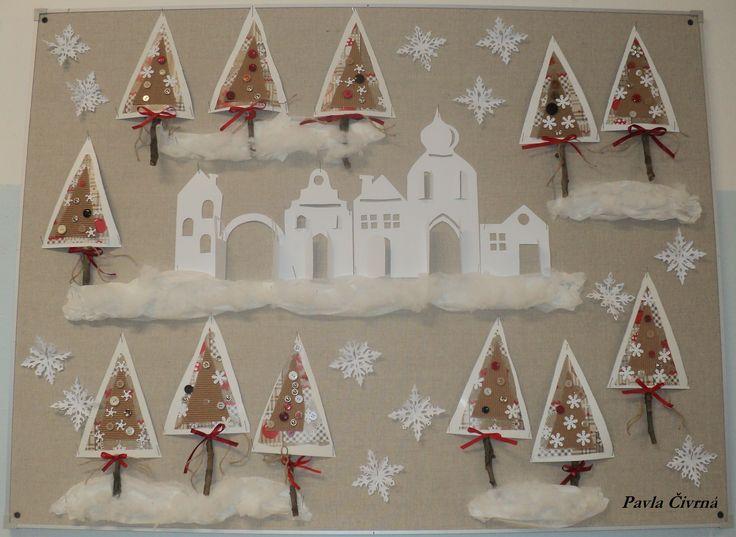 Vánoční stromky a zimní domečky 2017