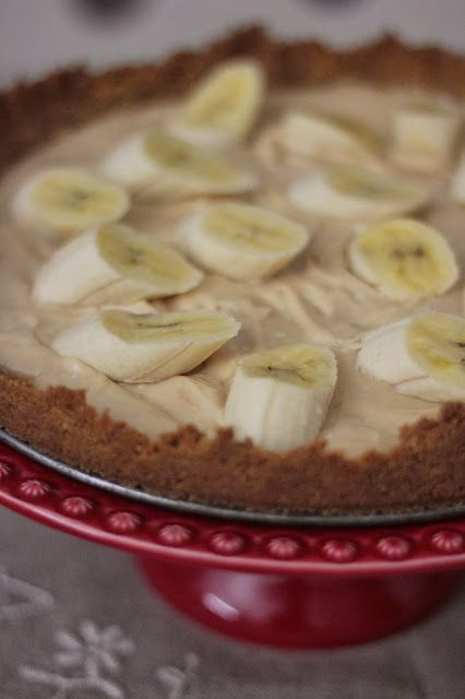 Cheesecake de Manteiga de Amendoim e Banana