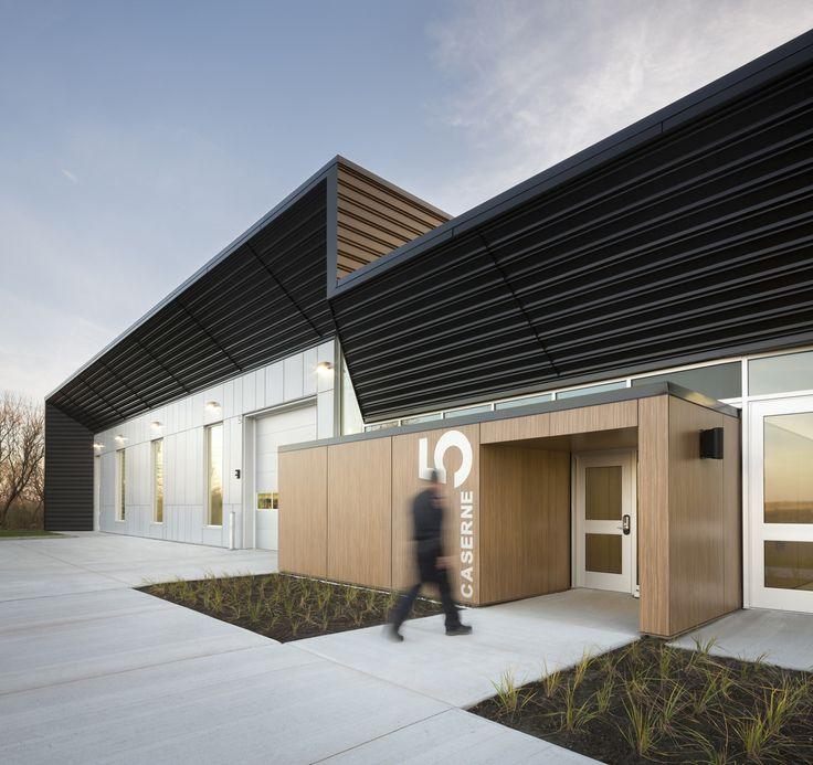 Gallery of Fire Station #5 / STGM Architectes + CCM2 Architectes - 1