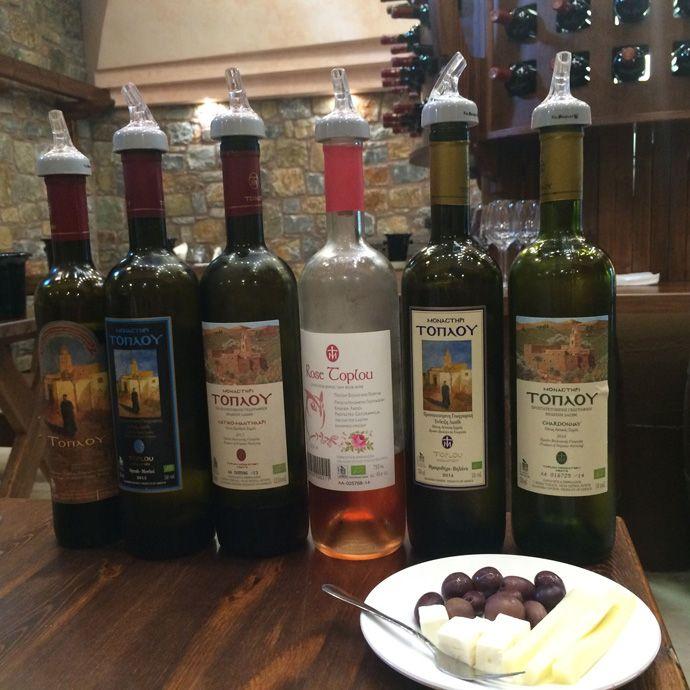 #Toplou #Monastery #Wines in #Sitia #Crete #Greece