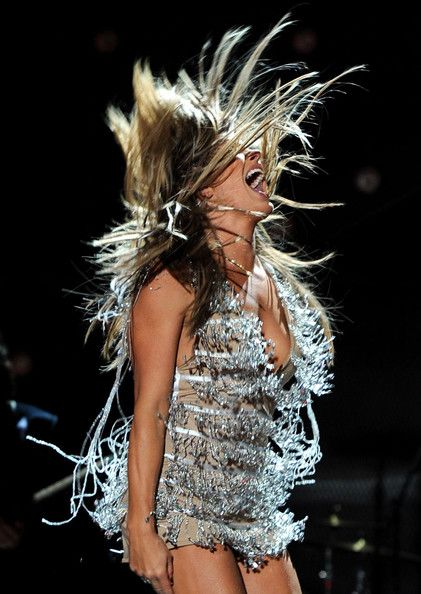 Grace Potter and The Nocturnals - this is how she looks in all of my pictures too!! High energy love it!
