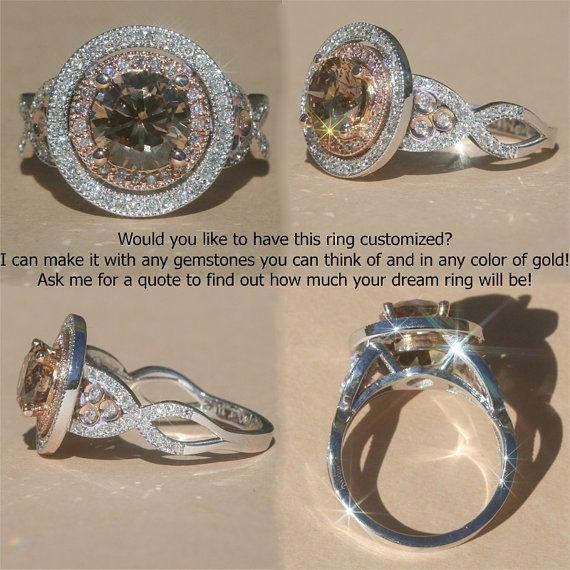 White Chocolate Diamonds. i want this ring!!