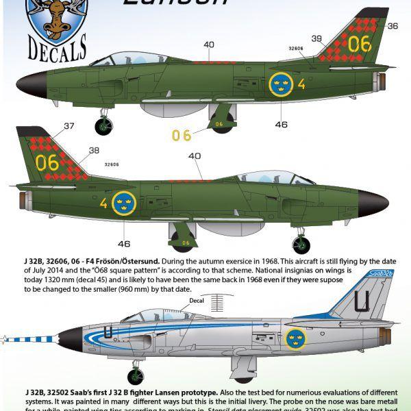 J 32B & J 32E Lansen 1/72 | MooseRepublic