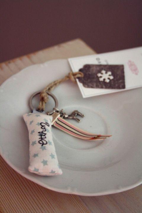 """""""Home"""" label keychain, by www.breslo.hu/bardoczeva/"""