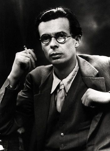 Aldous Huxley, wonderful novelist, essayist, and forward thinker! One of my all time favourites!