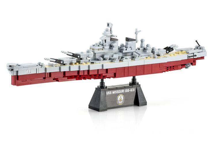 Brickmania - USS Missouri, $247.50 (http://www.brickmania.com/uss-missouri/)