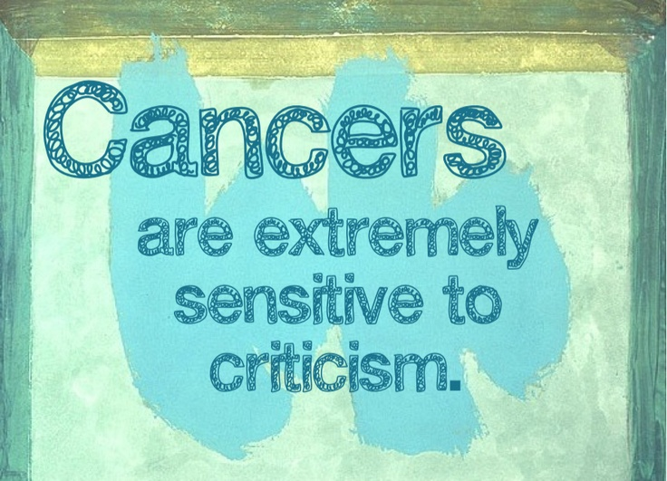 so true; and really isnt a good trait either. Cancer zodiac sign ♋