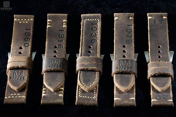 Panerai strap. Watchstrap kind panerai. Vintage Collection: Le