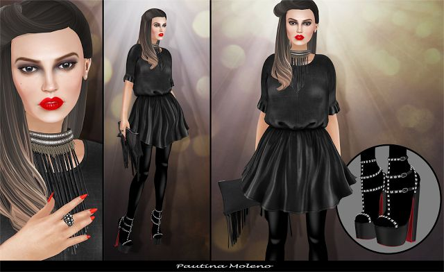 Spiderweb Second Life: Hello Dave +  FA CREATIONS + Black Swan + Phedora ...