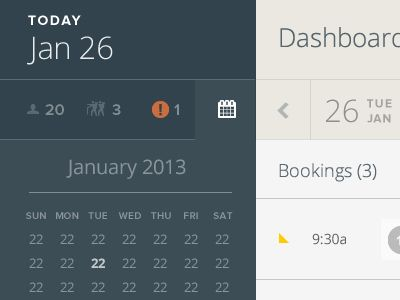 17 Best images about UI | Calendar | Time | Schedule on Pinterest ...