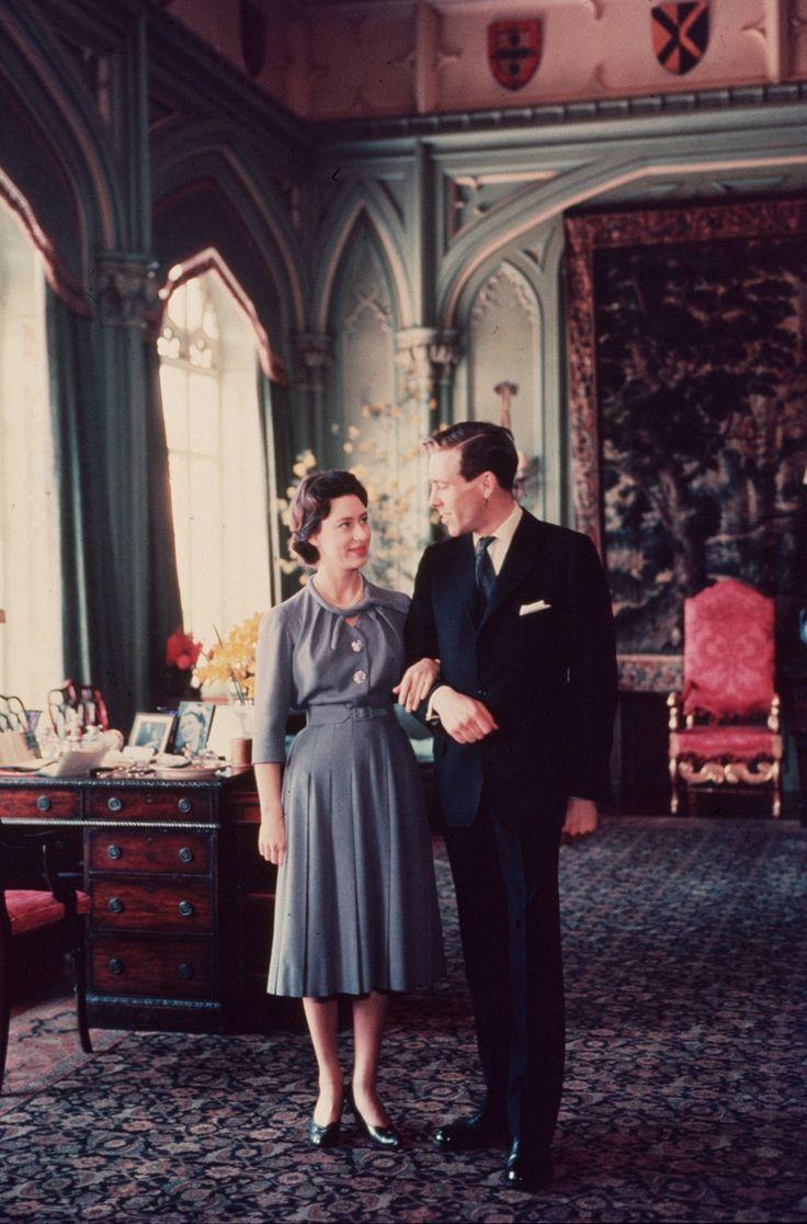 princess margaret engagement portrait