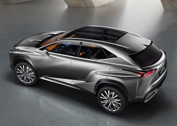 Lexus LF NX Release dates 600x428 2013 Lexus LF NX Concept Reviews