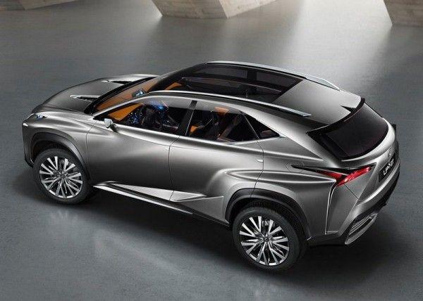 Lexus LF NX Release dates 600x428 2013 Lexus LF NX Concept Reviews