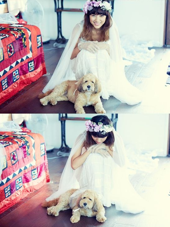 Lee Hyori weeding photo