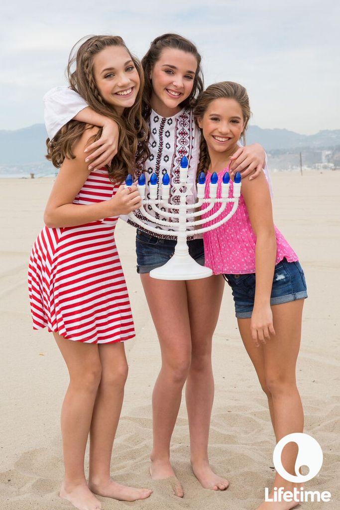 Happy Hanukkah from the Dance Moms girls!