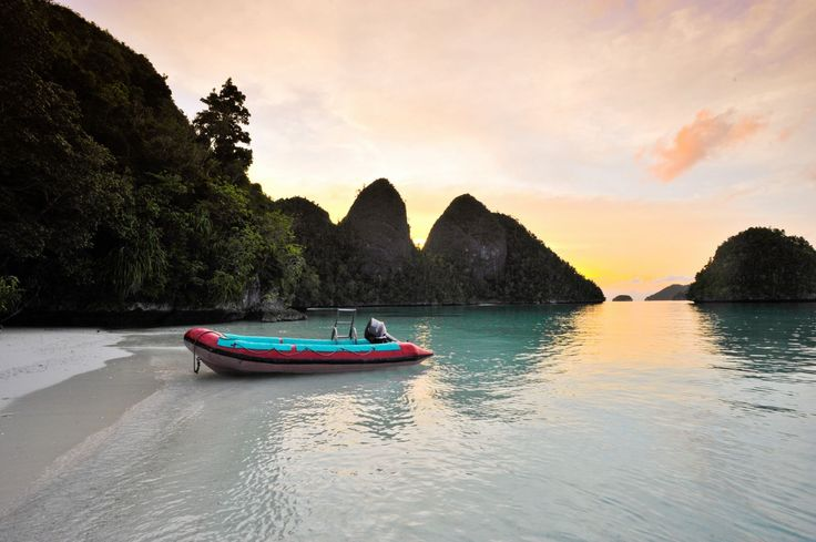Sunset in Raja Ampat - Raja Ampat Islands