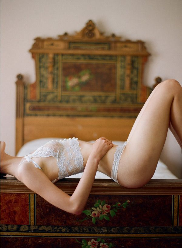 Claire Pettibone 'Heirloom Collection' - Photo: Elizabeth Messina http://www.clairepettibone.com/heirloom#lingerie