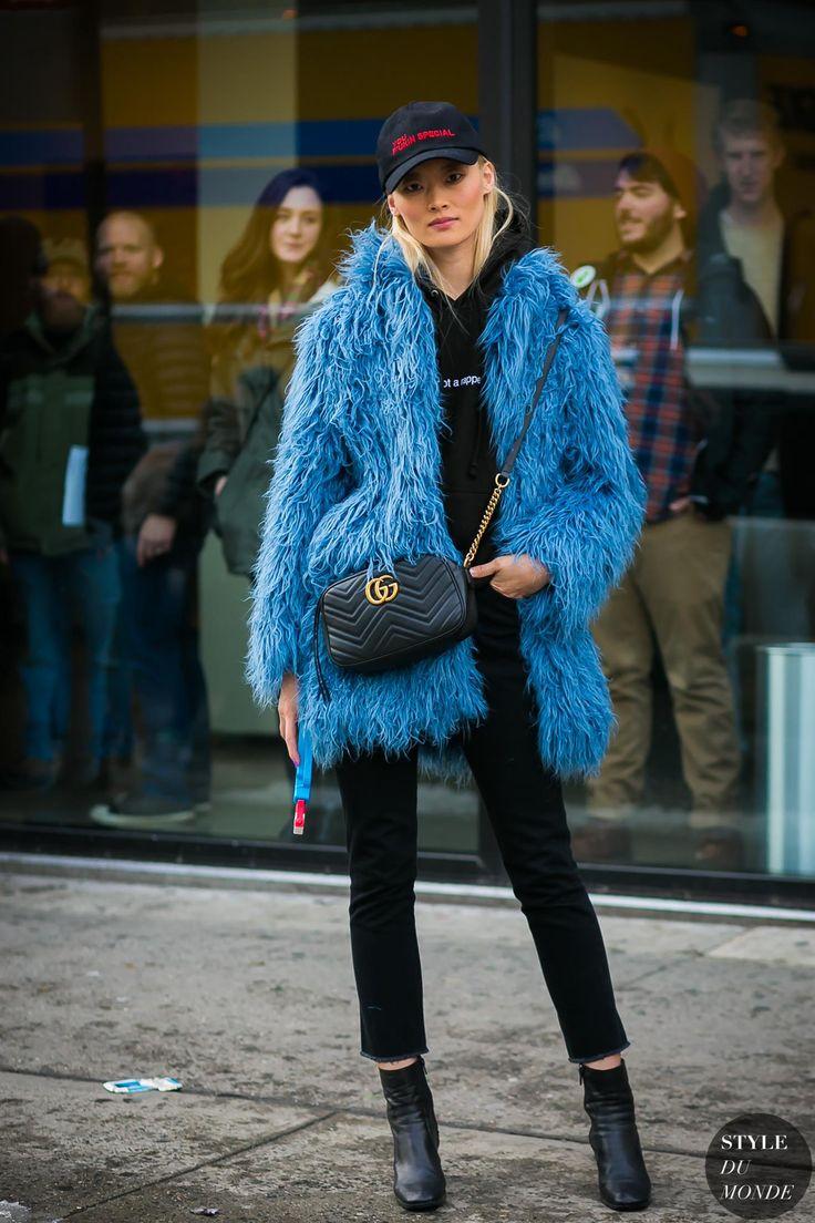 New York Fashion Week Fall 2017 Street Style: Model Off Duty