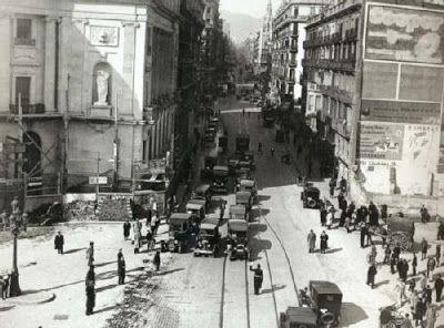 .1932 - Plaça Antoni Maura - Via Laietana - Barcelona