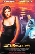 Jail Breakers 1994 Movie Poster 27x40 Used Shannen Doherty, Antonio Sabaio Jr.