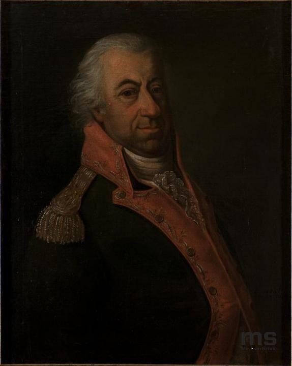 """Jan Daniel Hinckel """"portrait of  Konstanty Kruszyński"""" Lodz, National Museum"""