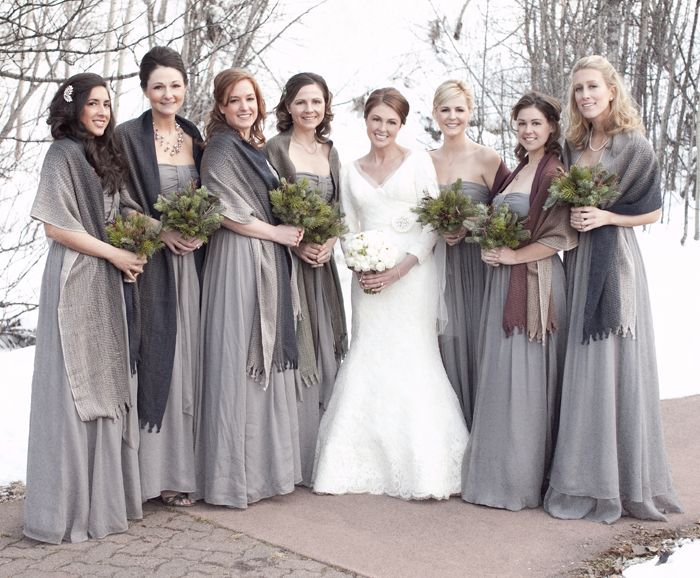 Elegant Winter Wedding In Colorado