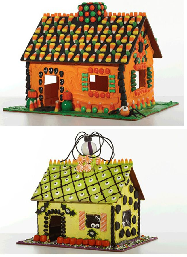 Gingerbread House Ideas (and giveaway!) This is a washable, reusable kit -- no baking, or stale gingerbread, just the fun of decorating!