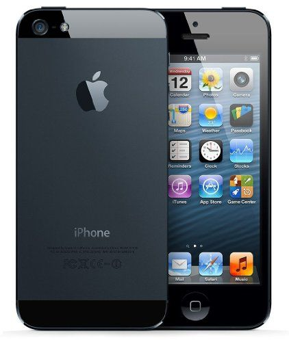 awesome Apple iPhone 5 A1428 Factory Unlocked Cellphone, 16GB, Black