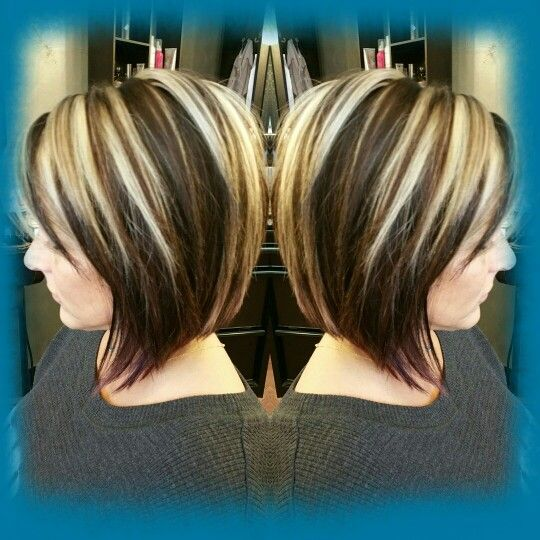 The 25 best chunky highlights ideas on pinterest blonde joico and tressa color chunky highlight lowlights inverted bob lindsey breitzke star image tulsa oklahoma pmusecretfo Images