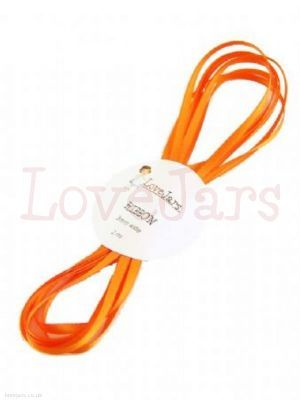 Orange Ribbon - 2 meters of coordinating 5,, wide satin ribbon for the Mixed Citrus collection