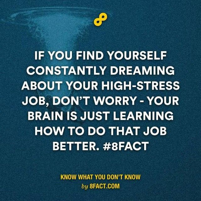 Keep calm and don't worry. #8fact