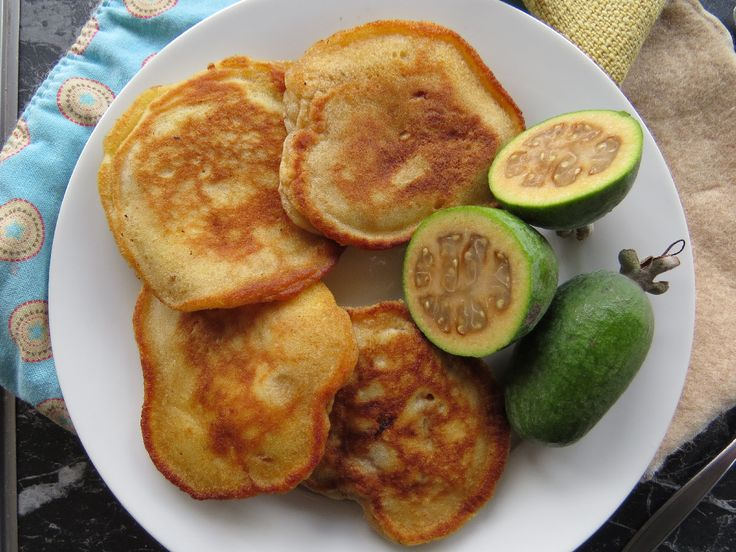 Feijoa Fritters