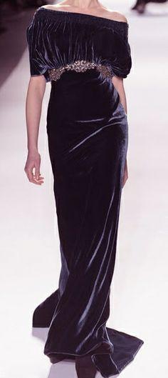 Venexiana black velvet - Mother of the groom, eggplant / deep purple