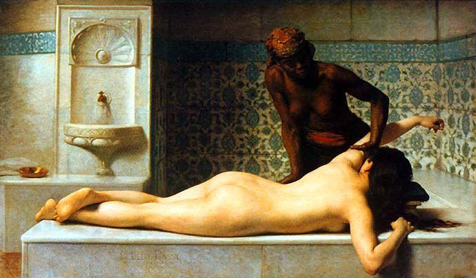 : Skin Care, Orientalist Art, Moroccan Skin