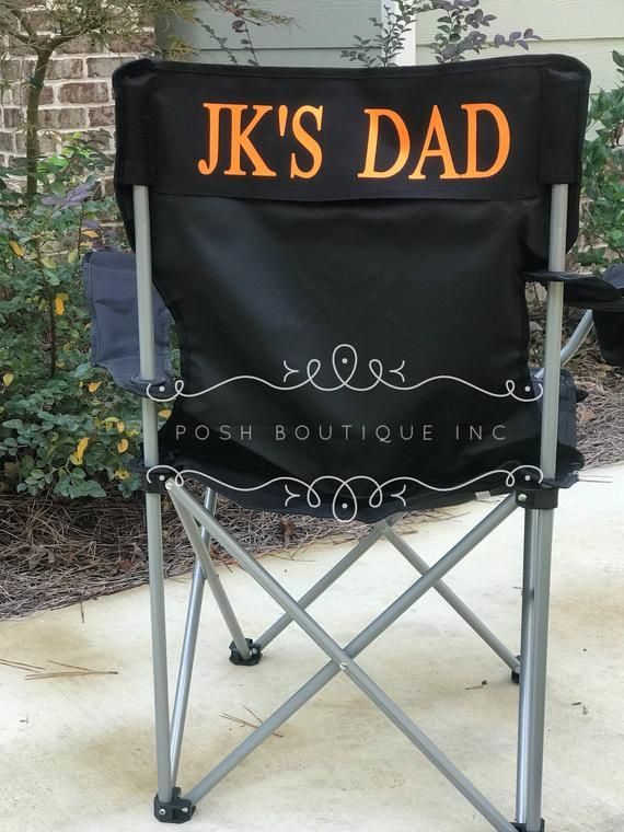 Custom Folding Chair Monogrammed Chair Personalized Camp Chair Groomsman Gifts Custom Chairs Coaches Chair Game Day Chairs Camping Chairs Wooden Beach Chairs Folding Camping Chairs