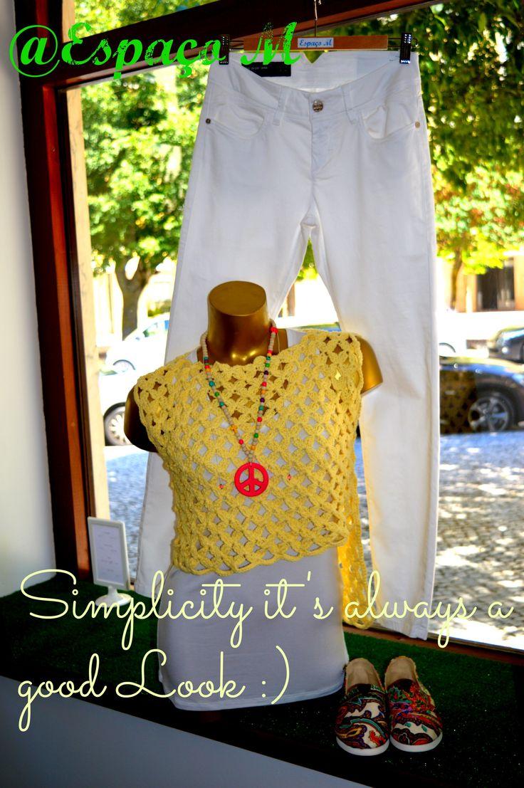 Quem disse que a simplicidade não é um look?