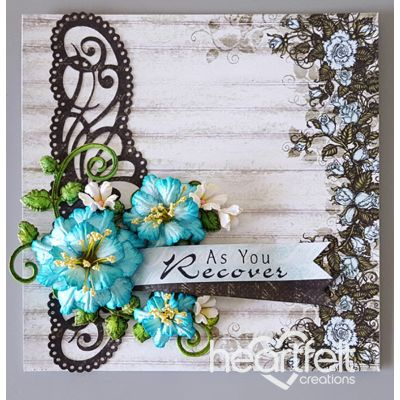 Heartfelt Creations - Teal Rose Recovery Project