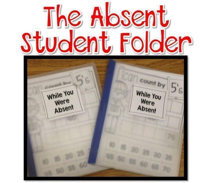 Bright Ideas: Absent Student Folders