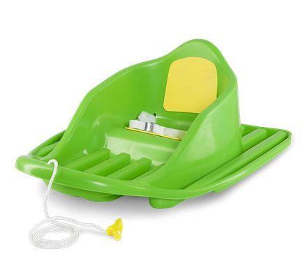 Snow Cruiser pulka Grön