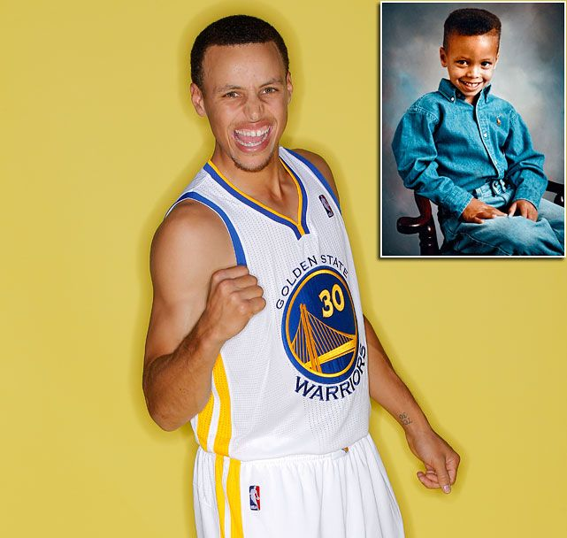 Steph Curry As A Kid
