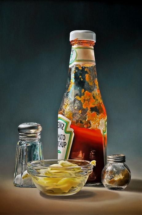 Dutch hyper realistic painter  http://www.tjalfsparnaay.nl/actueel.html