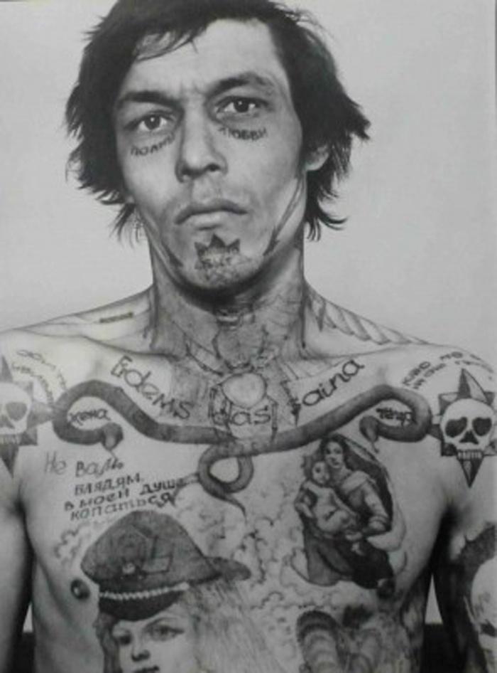 Tatuagens nas prisões russas – Parte I