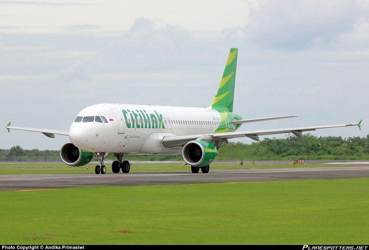 PK-GLK Citilink Garuda Indonesia Airbus A320-214