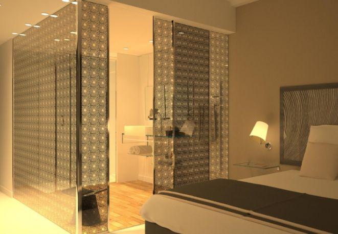 I (nuovi) muri in vetro tessile. Le pareti della collezione Tex Glass di Glassolutions con tessuti Nya Nordiska.