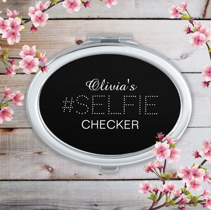 Stylish Personalized #Selfie Checker Mirror For Makeup